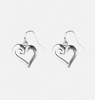 Avenue Swirl Heart Earrings
