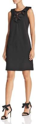 Nanette Lepore nanette Sleeveless Ruffle-Trim Sheath Dress
