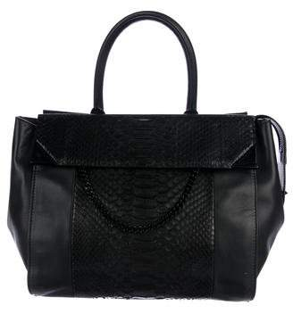 Barbara Bui Python Back To Black Bag