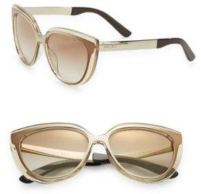 Jimmy Choo Cindy 57MM Cat's-Eye Sunglasses