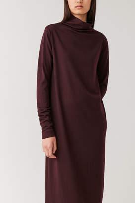 Cos HIGH-NECK MERINO DRESS