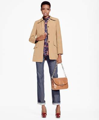 Single-Breasted Car Coat $298 thestylecure.com