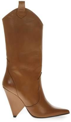 Aldo Castagna Brown Leather Boots