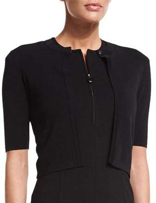 Akris Punto Half-Sleeve Short Cardigan
