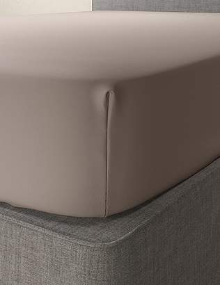 Marks and Spencer Comfortably Cool Cotton & Tencel® Blend Deep Fitted Sheet