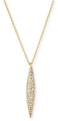 Alexis Bittar Short Pavé Crystal Spear Necklace $125 thestylecure.com