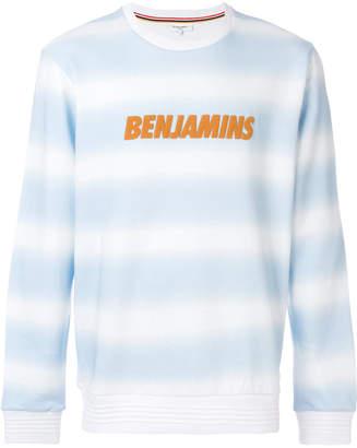 Les Benjamins logo print sweatshirt