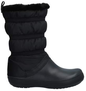 9284c7fb3 Black Croc Ankle Boots - ShopStyle UK