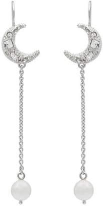 Miu Miu pearl pendant earrings