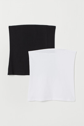 H&M 2-pack Cotton Tube Tops