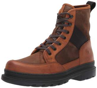 Frye Men's Scout Combat Boot Brown Multi 11 M US