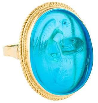 Tagliamonte 18K Venetian Angel Cameo Ring