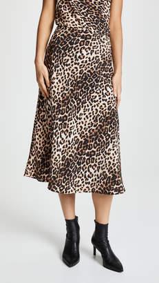 Valencia & Vine Leopard Skirt