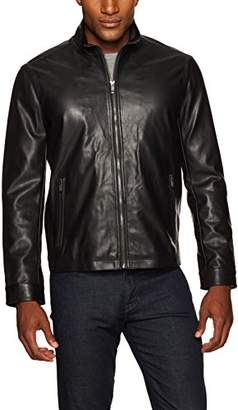 Co Weatherproof Garment Men's Faux Leather Jacket