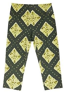 Marc Jacobs Women's Redux Grunge Ikat Jersey Crop Leggings