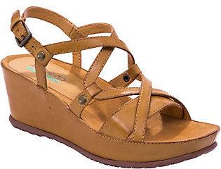 BareTraps Baretraps Strappy Wedge Sandals - Lotti $63 thestylecure.com