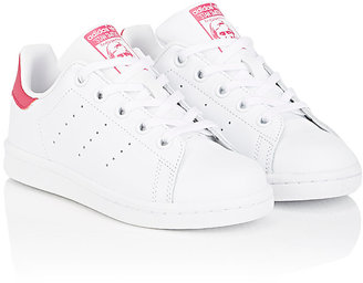 adidas Kids' Stan Smith Leather Sneakers $55 thestylecure.com