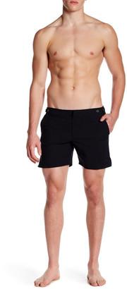 "Parke & Ronen Catalonia Solid Stretch Short - 6\"" Inseam $145 thestylecure.com"
