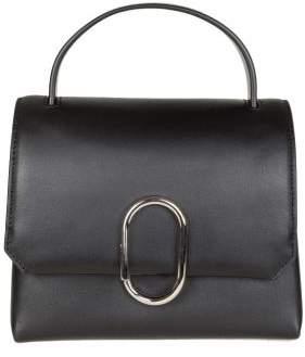 3.1 Phillip Lim Phillip Lim Alix Mini Top Handle Satchel Leather Color Black