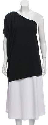 Rachel Zoe Silk One-Shoulder Tunic