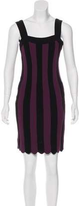 L'Wren Scott Striped Mini Dress