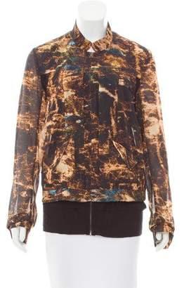 Kimberly Ovitz Long Sleeve Printed Jacket w/ Tags