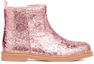 H&M Glittery boots - Pink