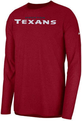 Nike Men Houston Texans Player Long Sleeve Top