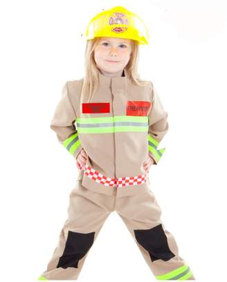 Time To Dress Up Personalised Children's Fire Fighter Costume