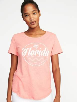 Old Navy Relaxed Florida-Graphic Tee for Women