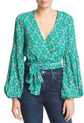 The Fifth Label Adventurer Floral Wrap Top