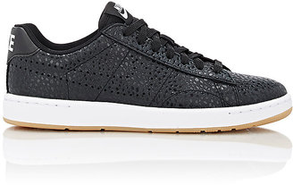 Nike Women's Tennis Classic Ultra Premium Sneakers-BLACK $130 thestylecure.com