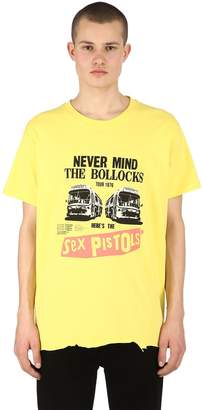 Boy London Sex Pistols Raw Cut Hem Jersey T-shirt
