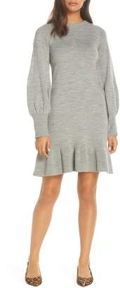 Eliza J Balloon Sleeve Sweater Dress