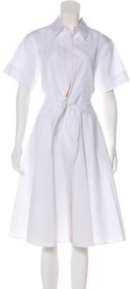Diane von Furstenberg Midi Woven Dress