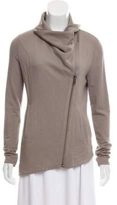 Helmut Lang Draped Knit Jacket