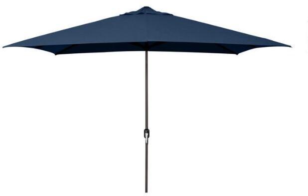 Navy 6.5 x 10 ft Rectangular Umbrella