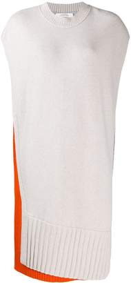 Schumacher Dorothee colour blocked knitted tunic