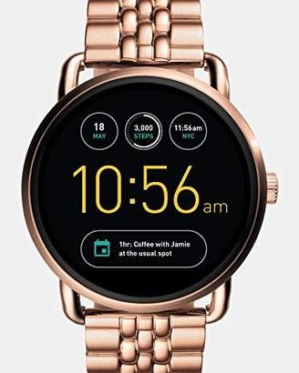 Fossil Q Wander Gen 2 -Tone Stainless Steel Touchscreen Smartwatch FTW2112