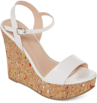 Nicole Miller N BY N By Valerie Womens Wedge Sandals