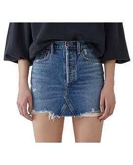 A Gold E Agolde Quinn Skirt