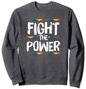 African Pride Fight The Power History Heritage Sweatshirt