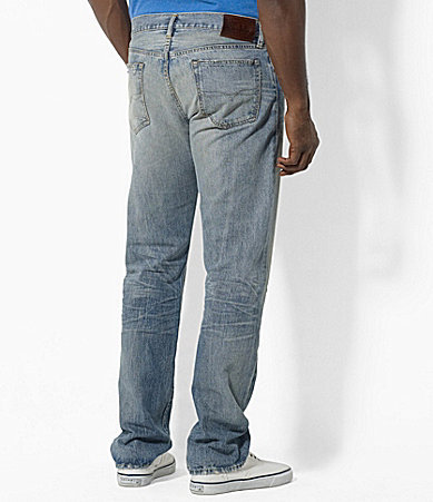 Polo Ralph Lauren Big & Tall Classic-Fit Lightweight Barlow Wash Jeans
