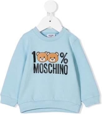 Moschino Kids 100% sweatshirt