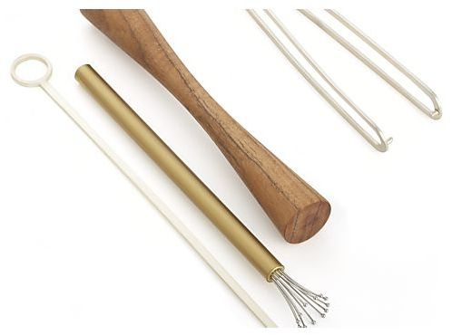 Crate & Barrel Orb Long Spoon