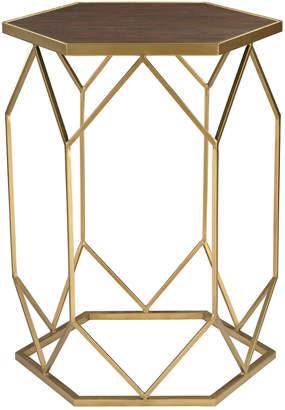Elk Lighting Hexagon Frame Side Table