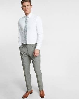 Express Slim Slub Dress Pant