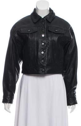 Marissa Webb Leather William Jacket