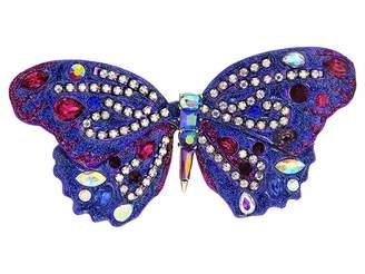 Betsey Johnson Purple Butterfly Pin