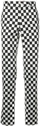 Comme des Garcons checkerboard trousers